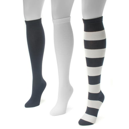 Game Day 3 Pair Pack Knee High Socks