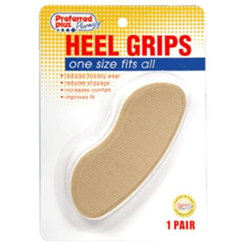 Heel Grips, One Size 1 pair (Pack of 6)