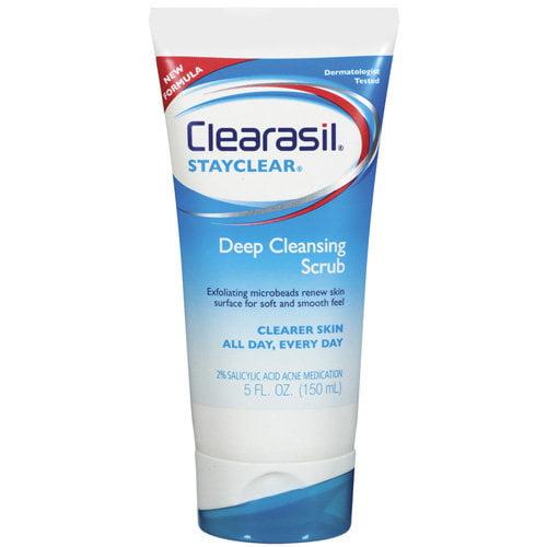 Clearasil: Stayclear Deep Cleansing Scrub, 5 oz