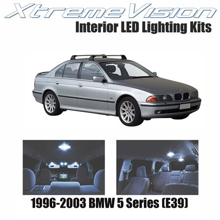 Xtremevision Led For Bmw 5 Series  E39  1996 2003  11 Pieces  Cool White Premium Interior Led Kit Package   Installation Tool