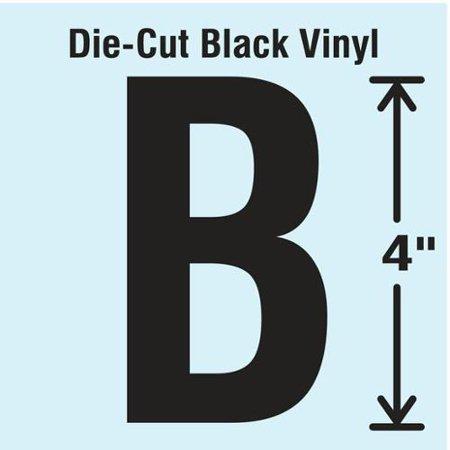 Stranco Inc Dbv 4 B 10 Die Cut Letter Label  B  10 Cards G0693351