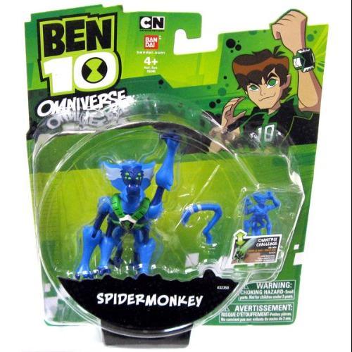 Ben 10 Ultimate Alien Spidermonkey Multi-Colored