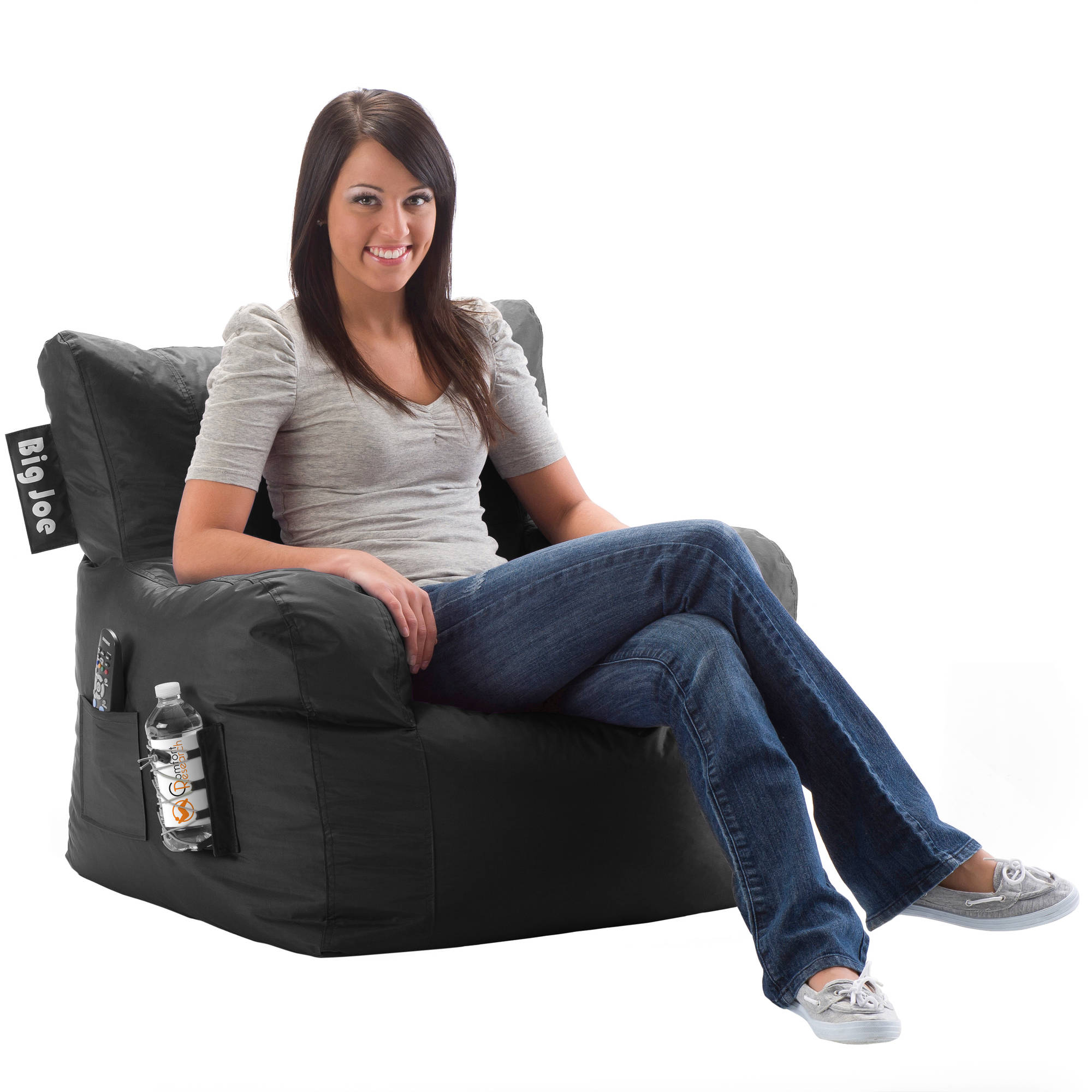 big joe bean bag chair multiple colors 33 x 32 x 25