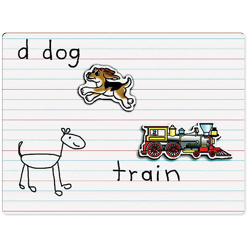 """Lined Magnetic Dry-Erase Board 12""""X9""""-"""
