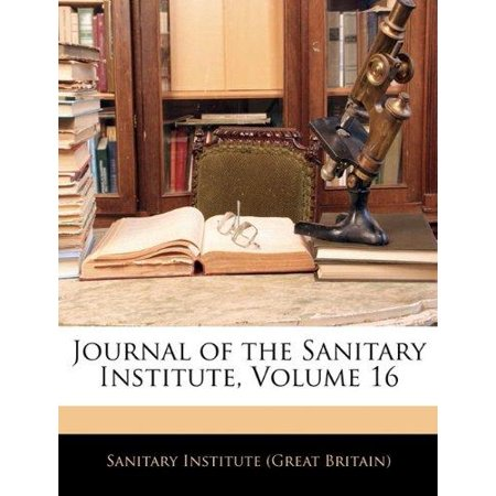 Journal of the Sanitary Institute, Volume 16 - image 1 of 1