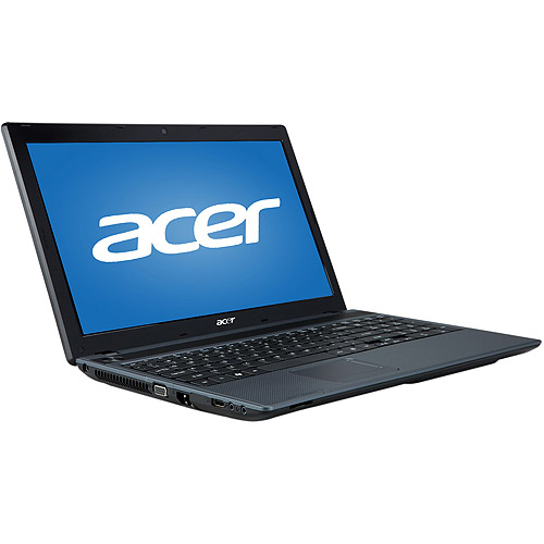 """Acer Mesh Gray 15.6"""" Aspire AS5250-0450 Laptop PC with AMD E-350 Dual-Core Processor and Windows 7 Home Premium Option with Windows 8 Pro Upgrade Option"""