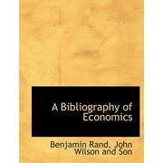 A Bibliography of Economics