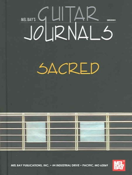 Mel Bay's Guitar Journals by Mel Bay Publications