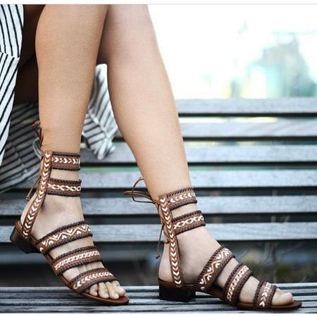 dfb707fd94e Schutz - Schutz Corgi Saddle Flat Tie Back Gladiator sandal ...