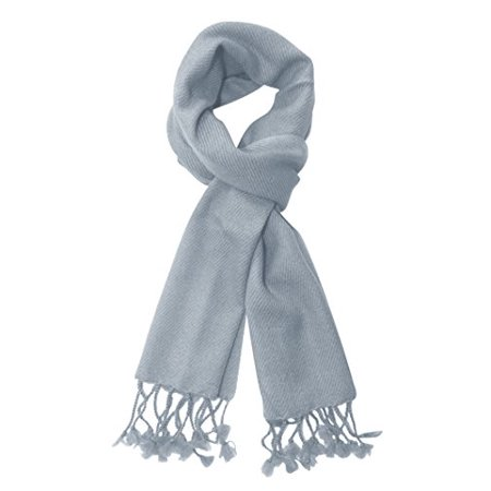 Peach Couture Unisex Best Solid Cashmere Warm & Luxurious Scarves