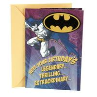 Hallmark Birthday Card (Batman Magnet)