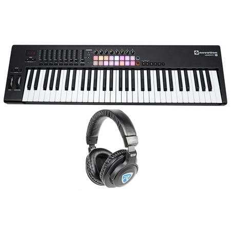novation launchkey 61 mk2 mk11 61 key usb midi controller keyboard headphones. Black Bedroom Furniture Sets. Home Design Ideas