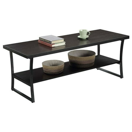Convenience Concepts X-Calibur Coffee Table in Espresso - image 2 de 3