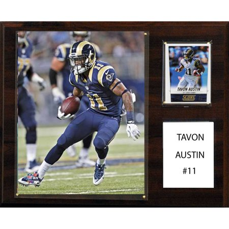 C&I Collectables NFL 12x15 Tavon Austin St. Louis Rams Player Plaque by