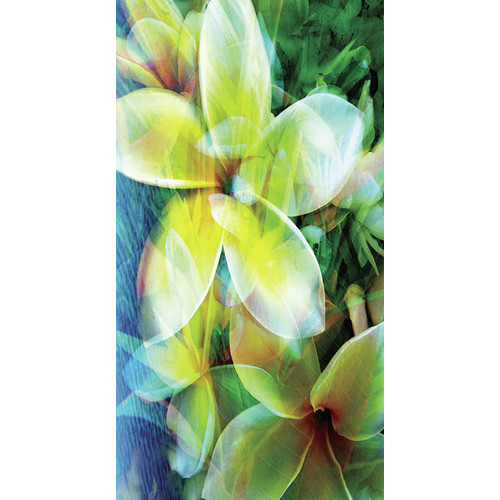 No Slip Mat by Versatraction Kahuna Grip Tropical Flowers Shower Mat