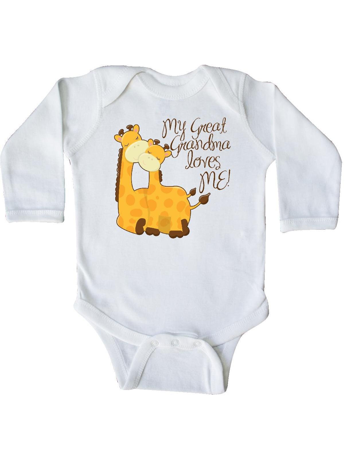 inktastic Polar Bear My Mimi Loves Me in Santa Hat with Infant Tutu Bodysuit