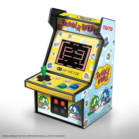 My Arcade BUBBLE BOBBLE Action Micro Arcade Machine 6