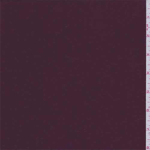 Cranberry Red Sateen, Fabric By the Yard
