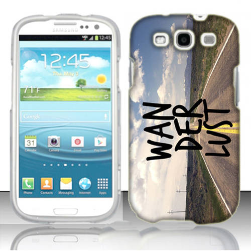 Mundaze Wanderlust Phone Case Cover for Samsung Galaxy S3
