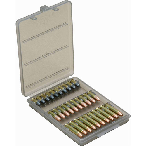 MTM Handgun Ammo Wallet, .22LR, 30 Rounds, Smoke