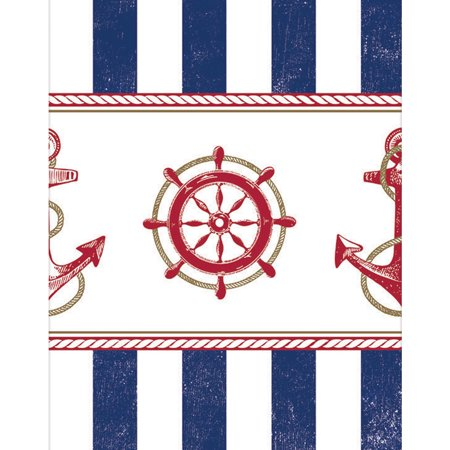 Nautical Table Cover - Party Supplies - Nautical Supplies