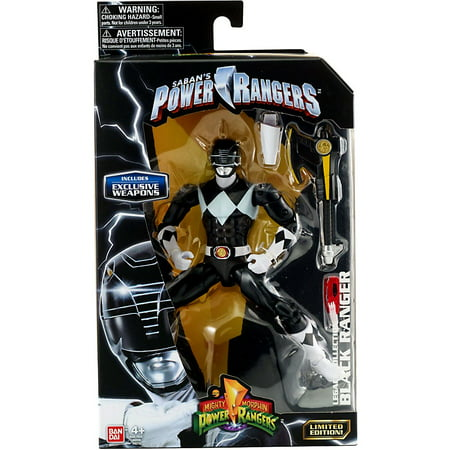 Bandai - Power Rangers Legacy, Mighty Morphin Black Ranger