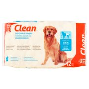 Dog It Clean Disposable Diapers, 12 pack