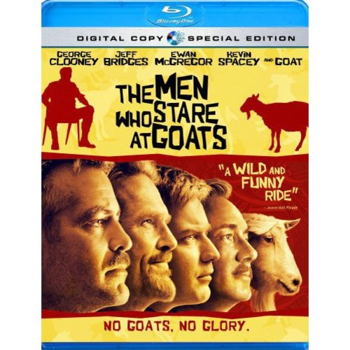 MEN WHO STARE AT GOATS (BR/2 DISC)