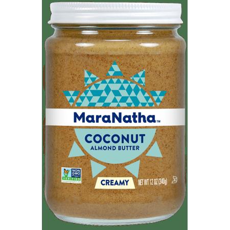 (2 Pack) MaraNatha Coconut Almond Butter, Creamy, 12 oz.