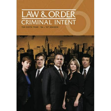 Law & Order: Criminal Intent - Season 6 (DVD)