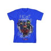 Lego Ninjago Boys' Ninja Fight Tee S(6/7)