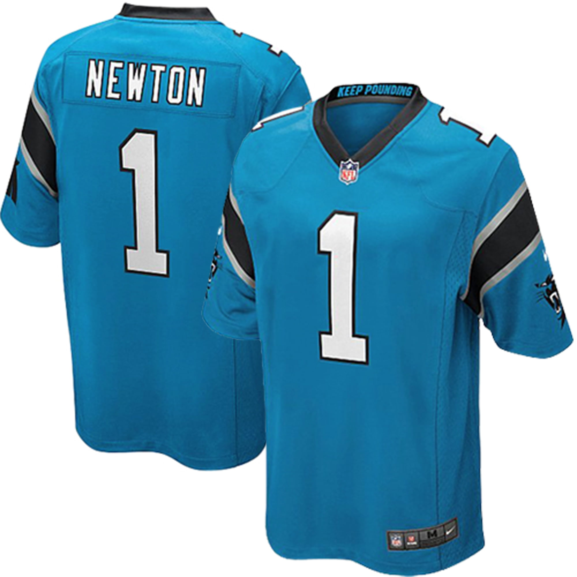 quality design 1ceef 06113 Cam Newton Carolina Panthers Nike Youth Alternate Game Jersey - Panther Blue