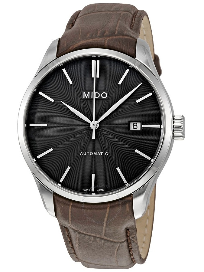 Mido Belluna II Automatic Black Dial Men's Watch M024.407.16.061.00