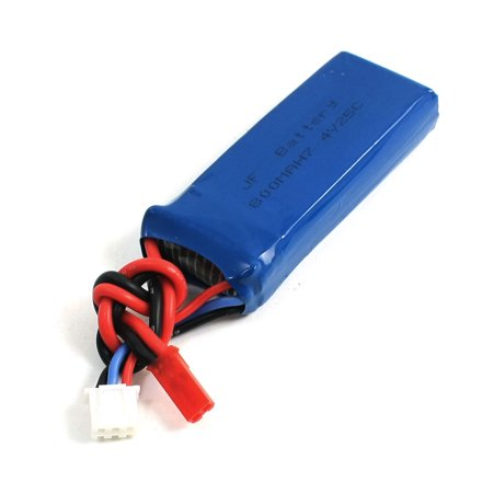 7.4V 800mAh 25C 20A 2S Lithium Rechargeable Battery for RC (Battery Rc Helicopters)