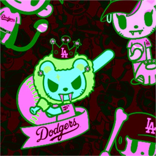 Coveroo MLB Los Angeles Dodgers Tokidoki Samsung Galaxy S...