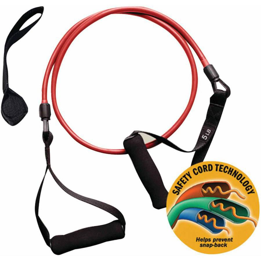 GoFit Smart Weight Power Tube, 5 lbs, Red