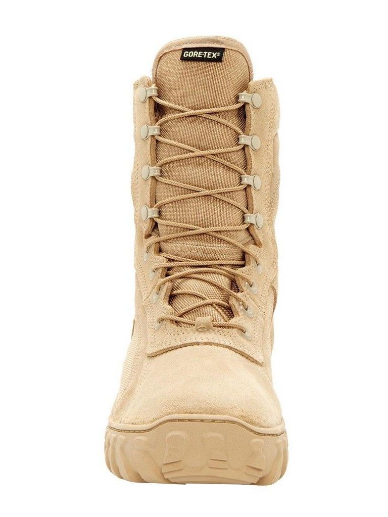 Rocky Tactical Boots Mens S2V GTX Waterproof Desert Tan FQ00101-1