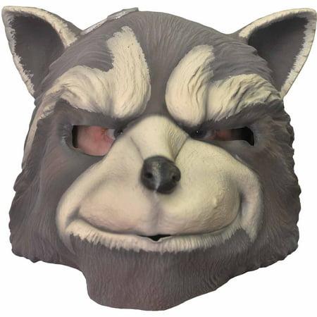 Rocket Raccoon Mask Adult Halloween Accessory - Mask Rocky