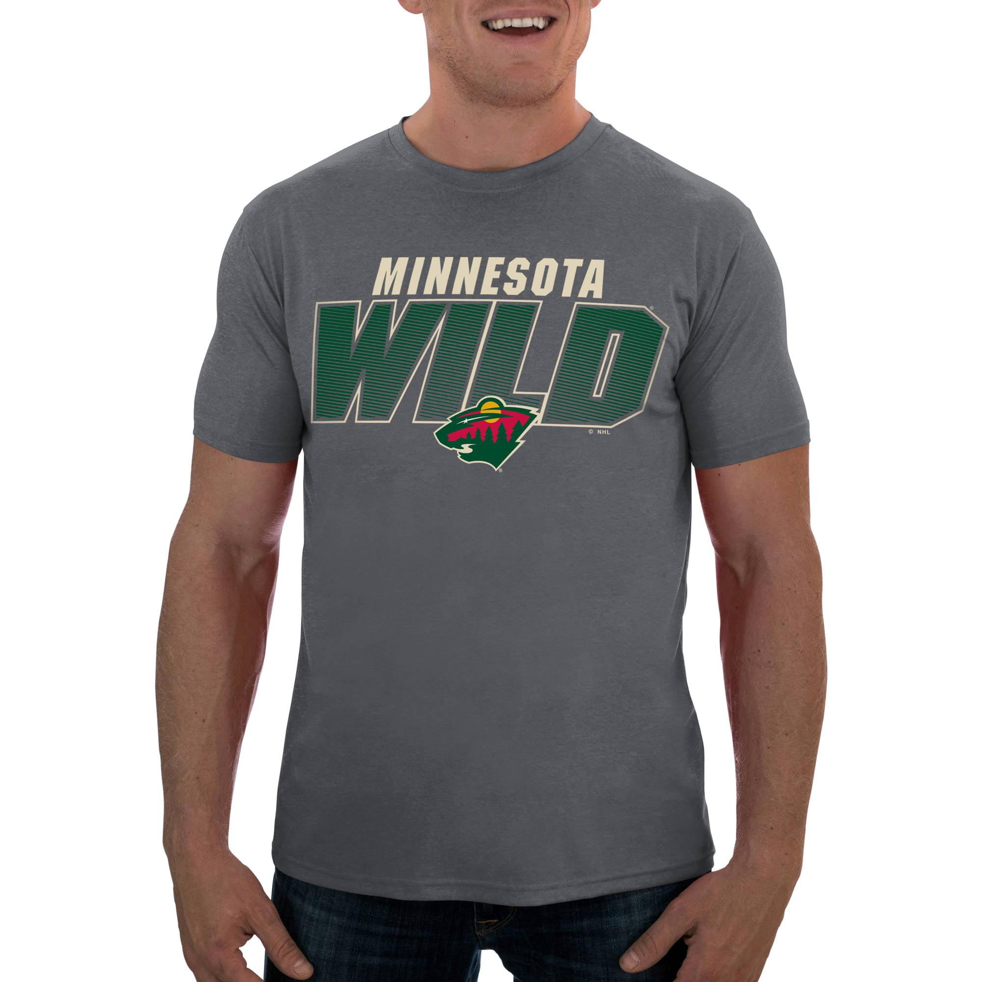NHL Minnesota Wild Men's Short Sleeve Impact Tee