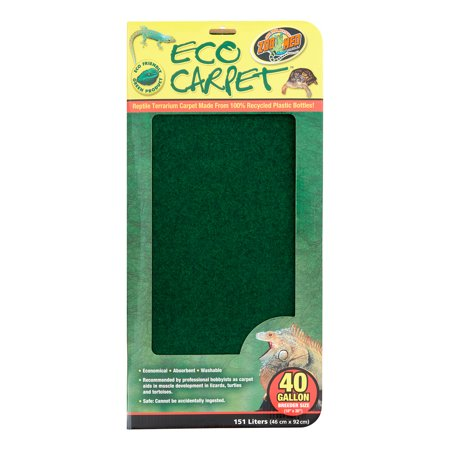Zoo Med Eco Carpet Reptile Bedding 15 Quot X 36 Quot Green