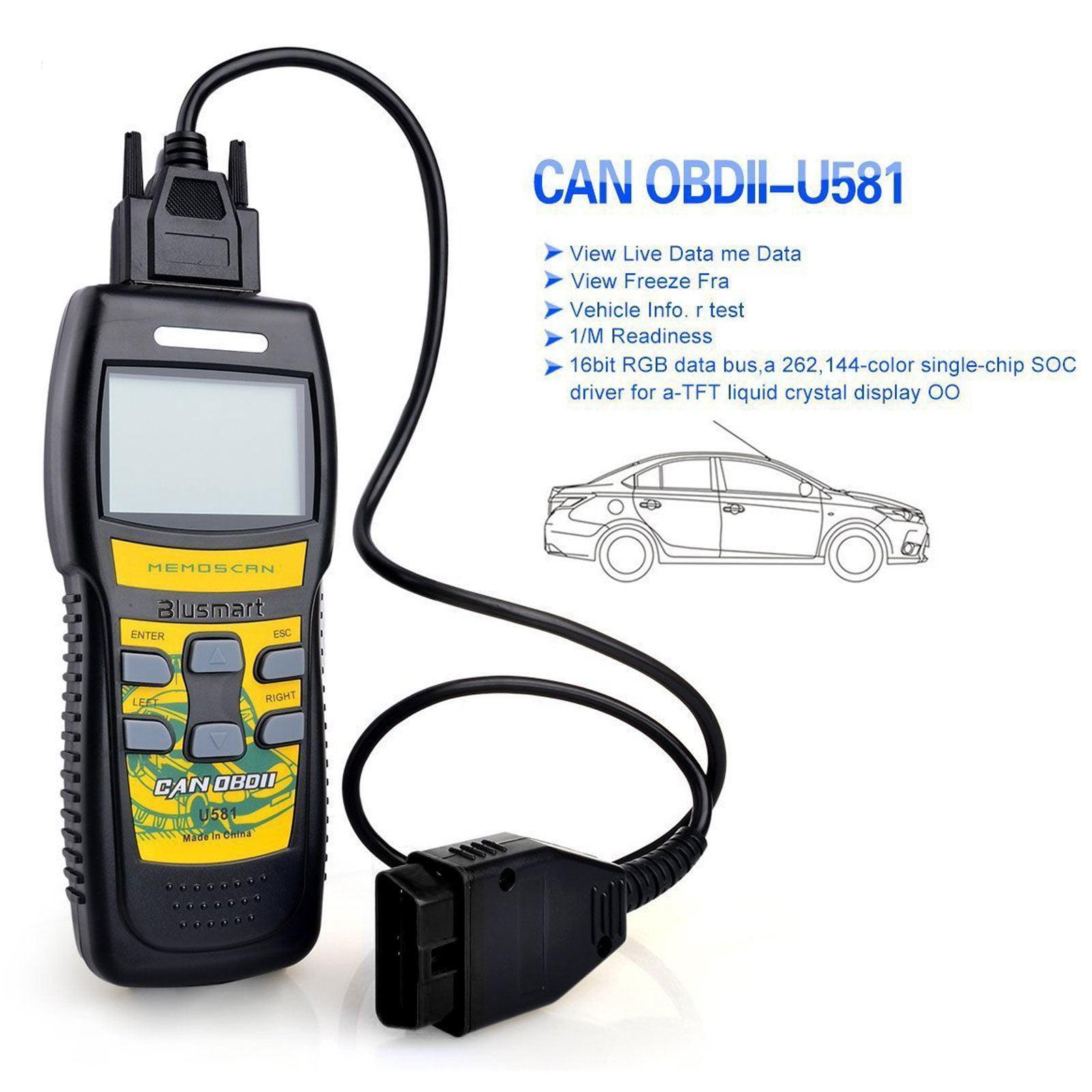 EEEKit U581 Professional Diagnostic Tool CAN OBD II OBD2 Code Scanner Reader