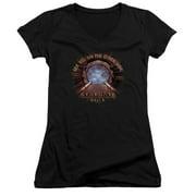 Stargate SG1 Other Side Juniors V-Neck Shirt