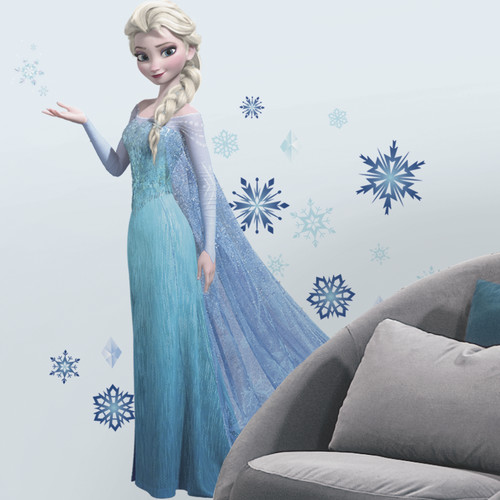 Room Mates 44 Piece Disney Frozen Elsa Giant Wall Decal Set