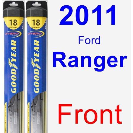 (2011 Ford Ranger Wiper Blade Set/Kit (Front) (2 Blades) - Hybrid)