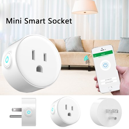 Smart Plug Wi-Fi Enabled Mini Outlets Smart Socket Control Your Electric Devic