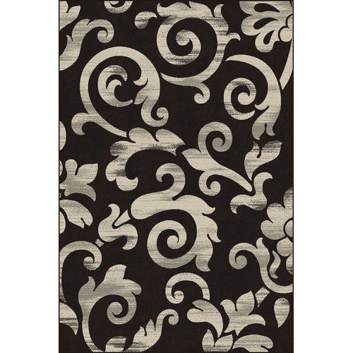 Central Oriental Providence Charcoal Melody Rug