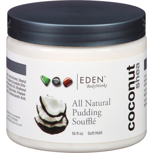 EDEN BodyWorks Coconut Shea All Natural Pudding Souffle, 16 fl oz