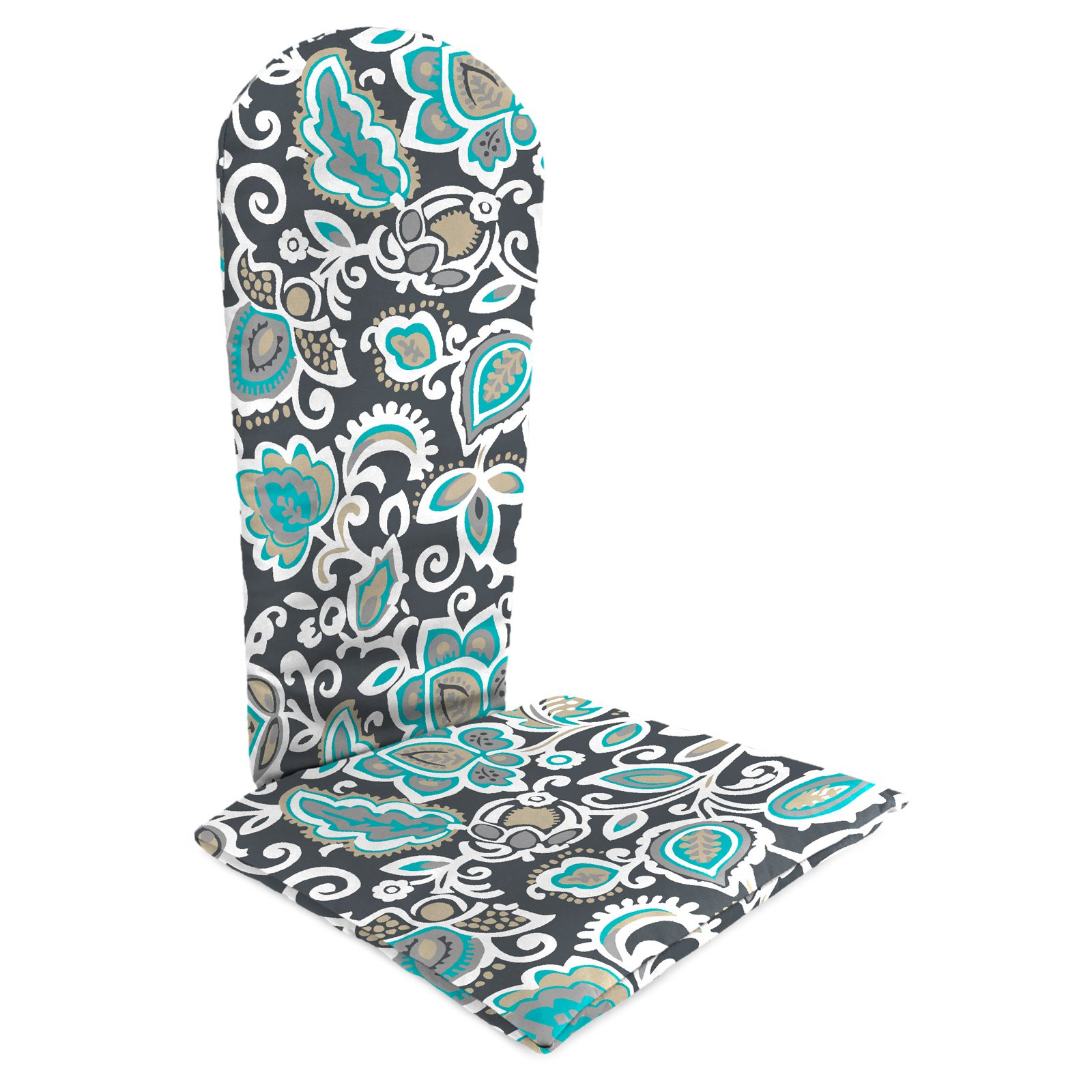 Jordan Manufacturing Knife Edge Outdoor Adirondack Chair Cushion - Faxon Cavern