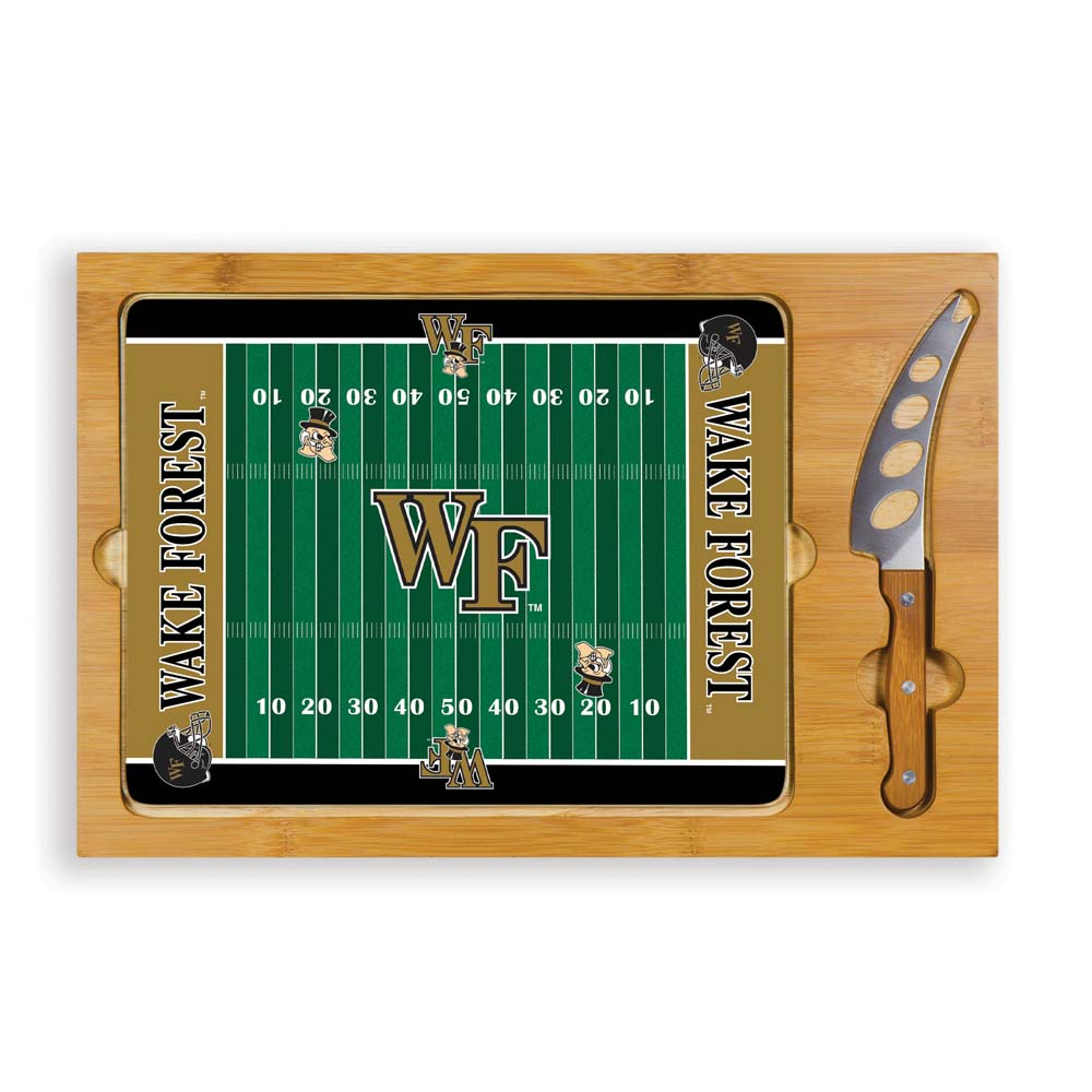 Wake Forest Icon 3 Piece Cheese Set