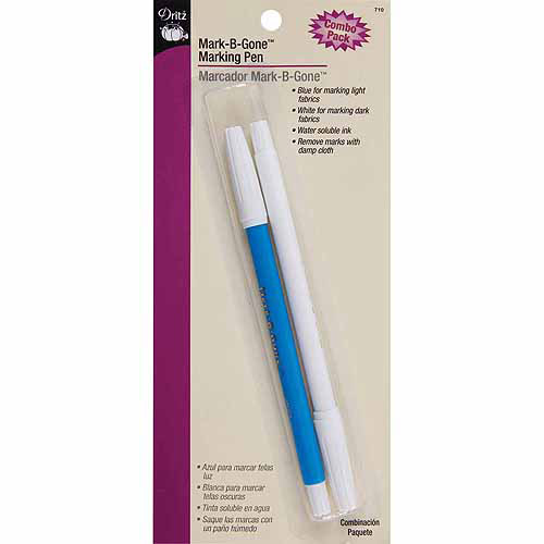 Dritz Mark-B-G1 Combo Pack, White and Blue